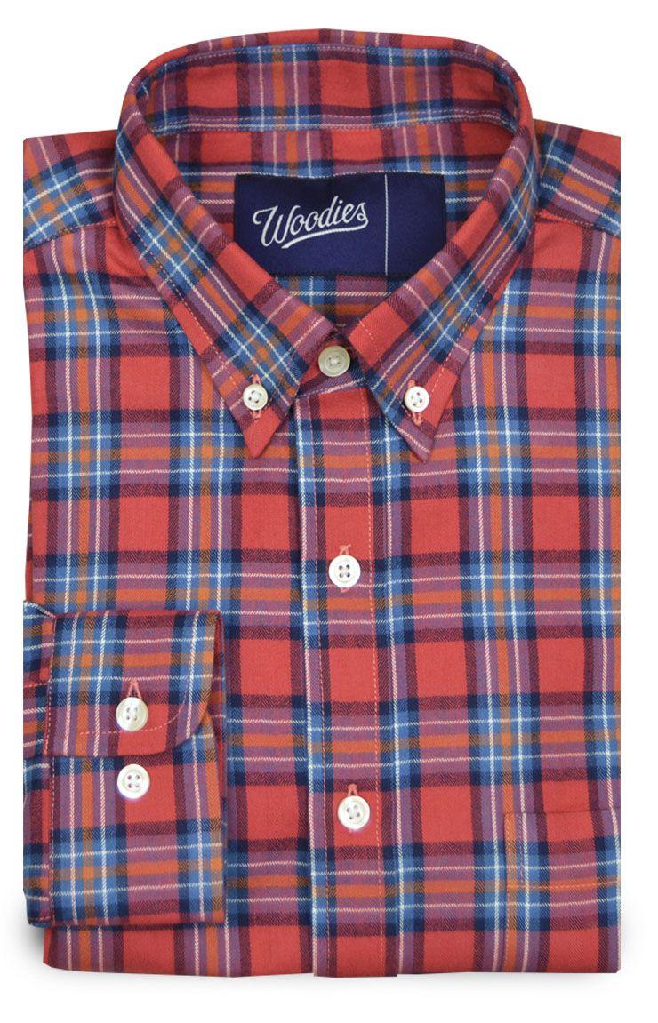 Multi Color Plaid Flannel Shirt Casual Check Novelty Plaid Shirt