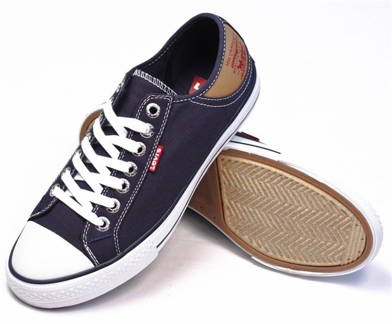 Men's Sneaker Navybrown Levi's Footwear Stan Buck Canvas qTvwRUz