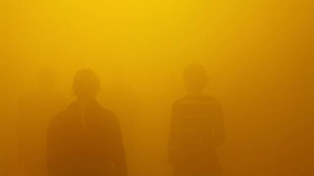 Olafur Eliasson - Din blinde passager, 2010    Installation view at ARKEN Museum for Moderne Kunst