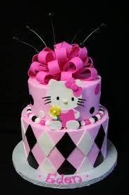 cake hello kitty - Pesquisa Google