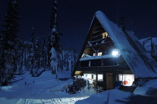Blanket Glacier Chalet A Backcountry Ski Hut Cabin