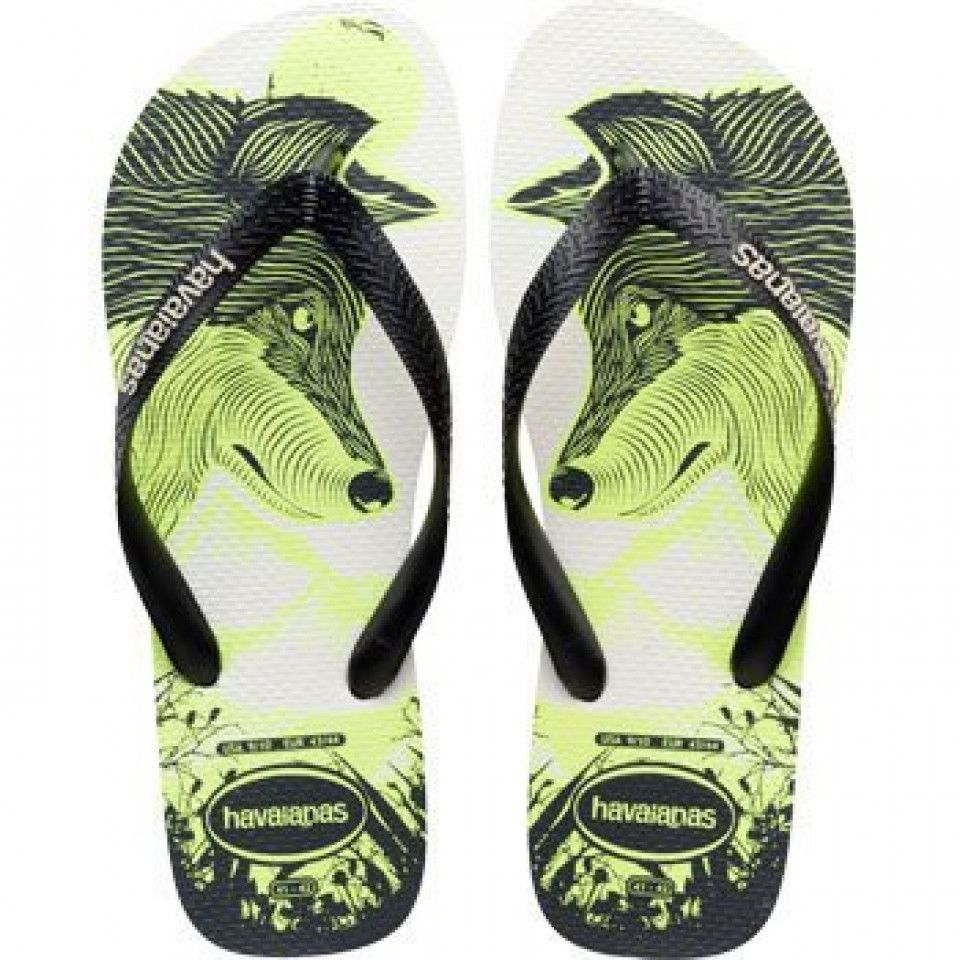 8e5aef5b90a8fc Havaianas 4 Nite White Black Phosphorescent Flip Flops Price From  £13.90  Hang