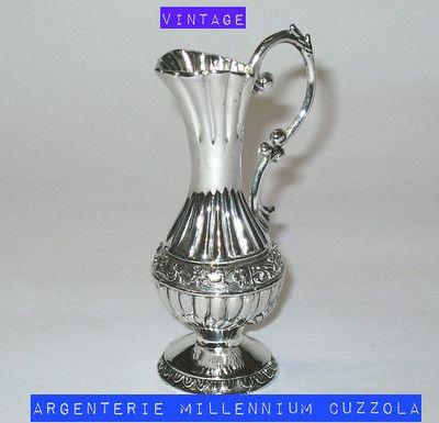 Bomboniere Argento Matrimonio Prezzi.Dettagli Su Anforetta Vasetto Silver Bomboniere Matrimonio Argento