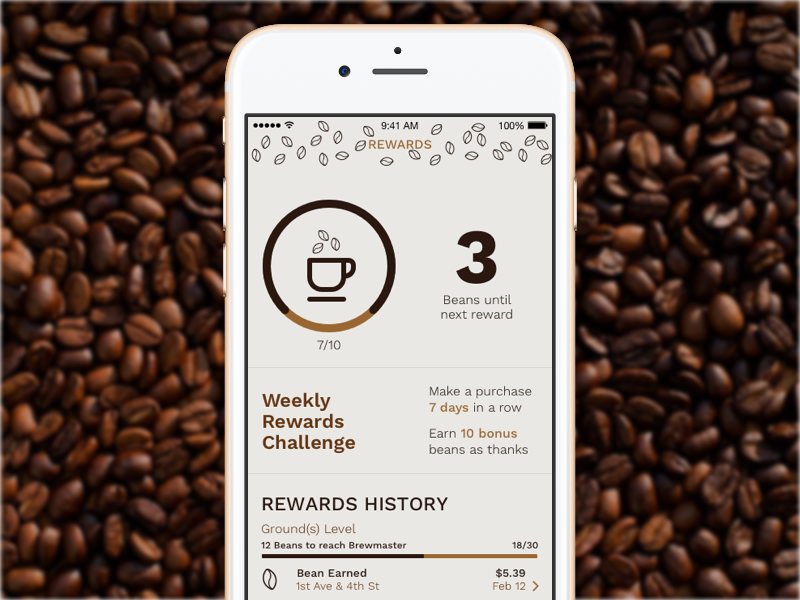Coffee Rewards Loyalty App Loyalty Card App Loyalty Program Design Loyalty Card Program