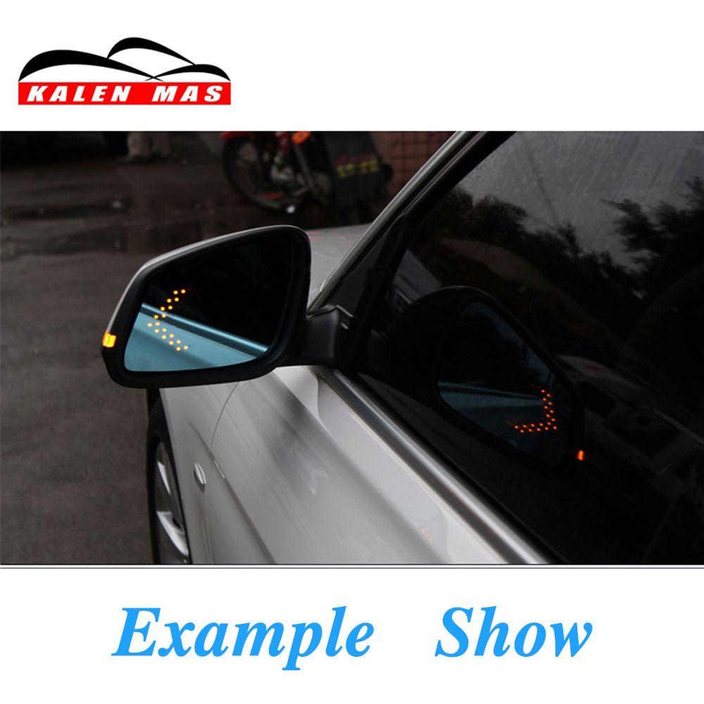 KALEN MAS 2pcs Amber Arrow Panel 14SMD Led Car Side Mirror