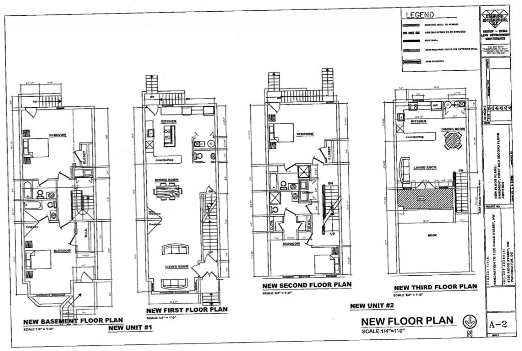 Narrow Row House Floor Plans Google