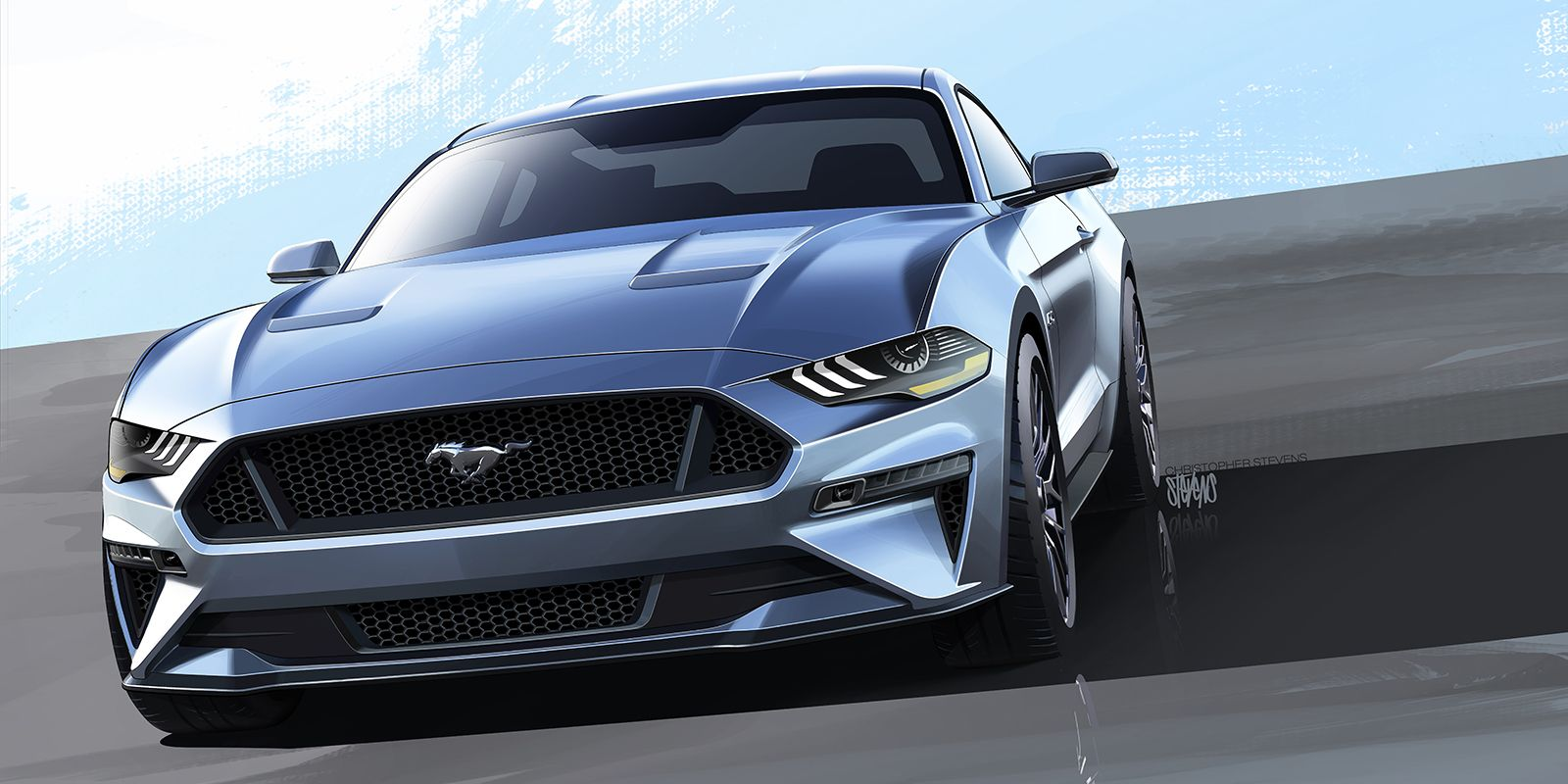 Check out every angle of the 2018 ford mustang
