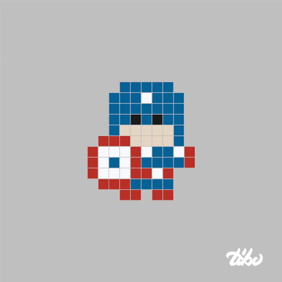 pixel art mini