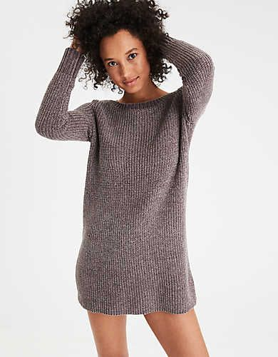f029a8a174a AE Ahh-Mazingly Soft Chenille Sweater Dress