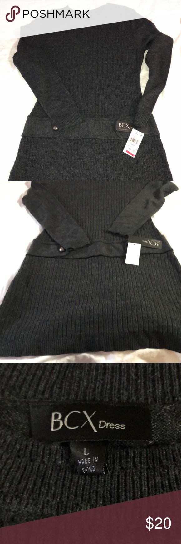 97cf6b1d718 BCX SWEATER dress large black price firm ( 50) Is a brand new BCX sweater