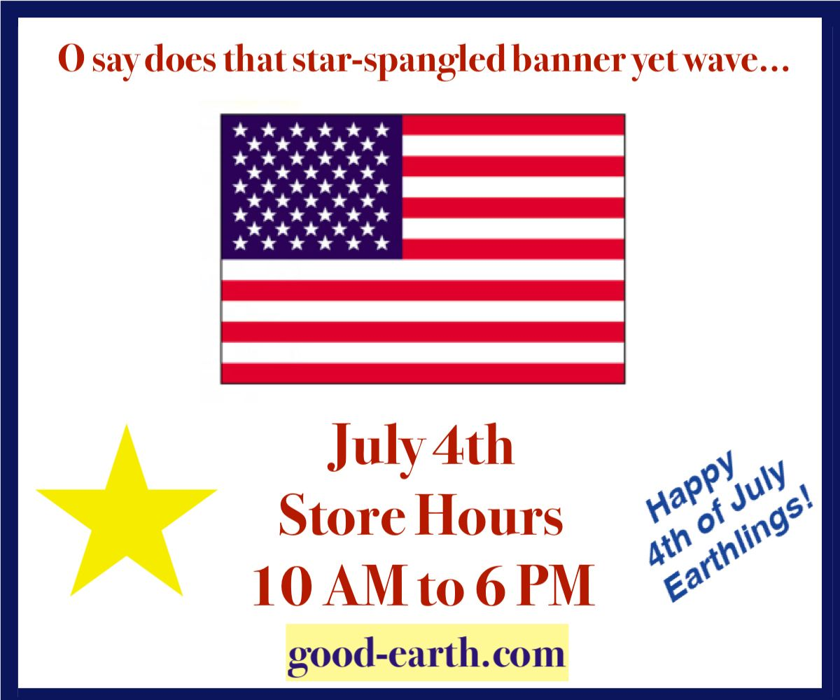 July 4th store hours 10 am to 6 pm food store happy