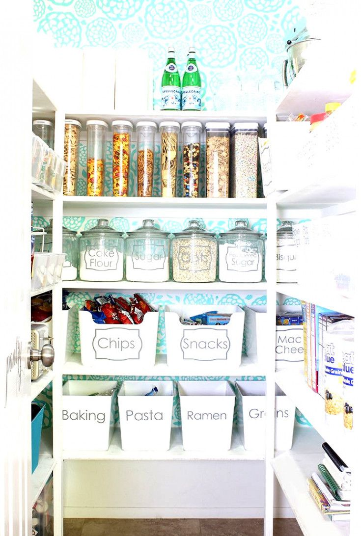 #KitchenOrganization #PantryOrganization #CoolKitchens #Pantry #KitchenDecor #Organization