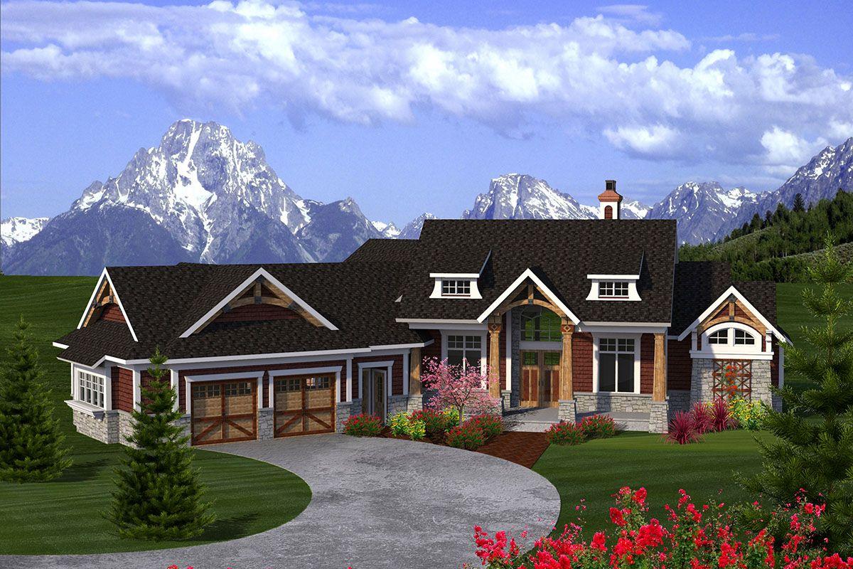 Plan 89936ah 2 Bed Craftsman Ranch In 2021 Craftsman House Plans Ranch House Plans Garage House Plans