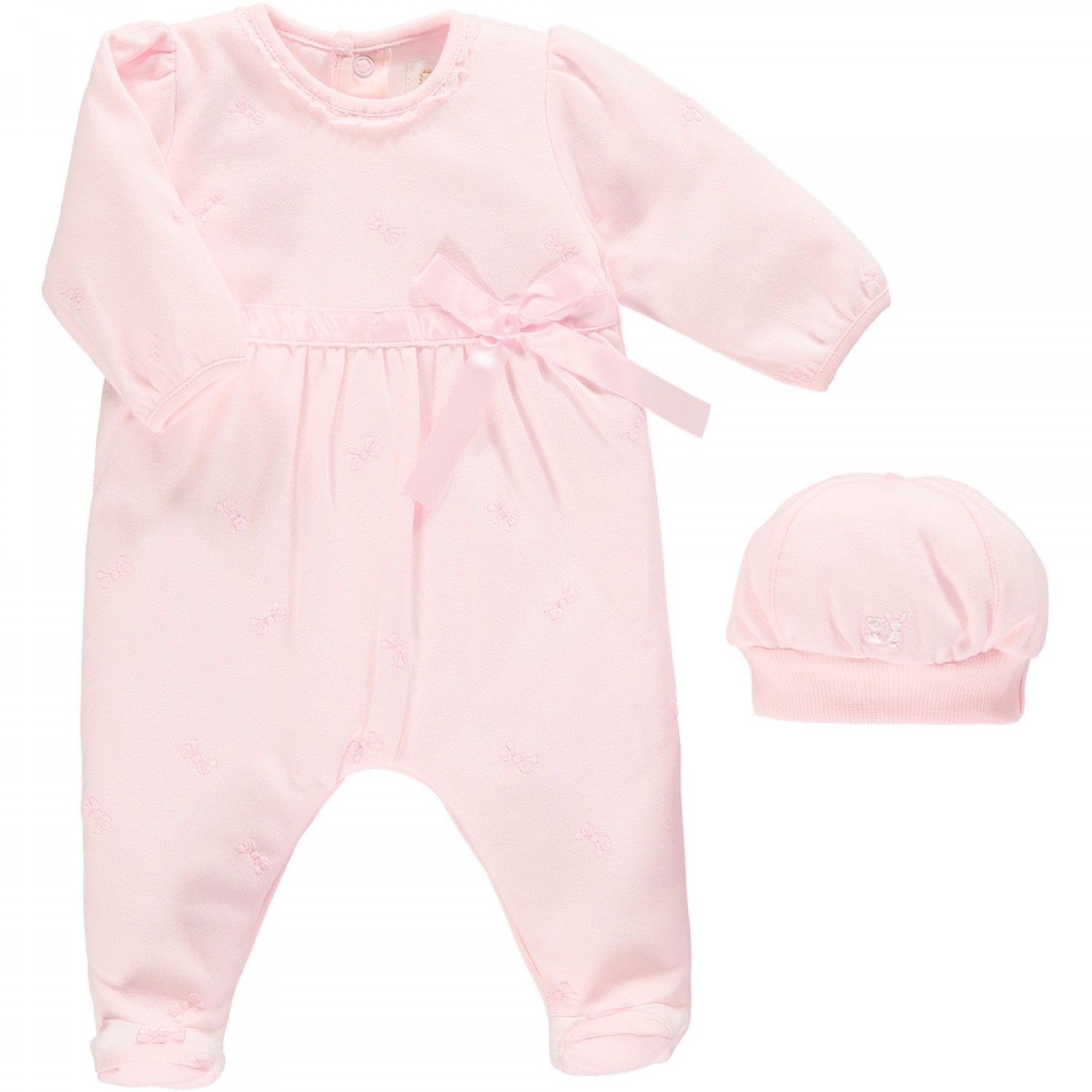 Karly Pretty Girls All in e with Bow Detail & Hat