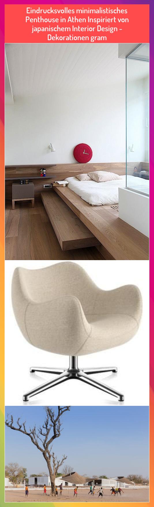 Eindrucksvolles minimalistisches Penthouse in Athen Inspiriert von japanischem Interior Design - Dekorationen gram #Athen #Dekorationen #design #Eindrucksvolles #gram #inspiriert #interior #japanischem #Minimalistisches #Penthouse #von