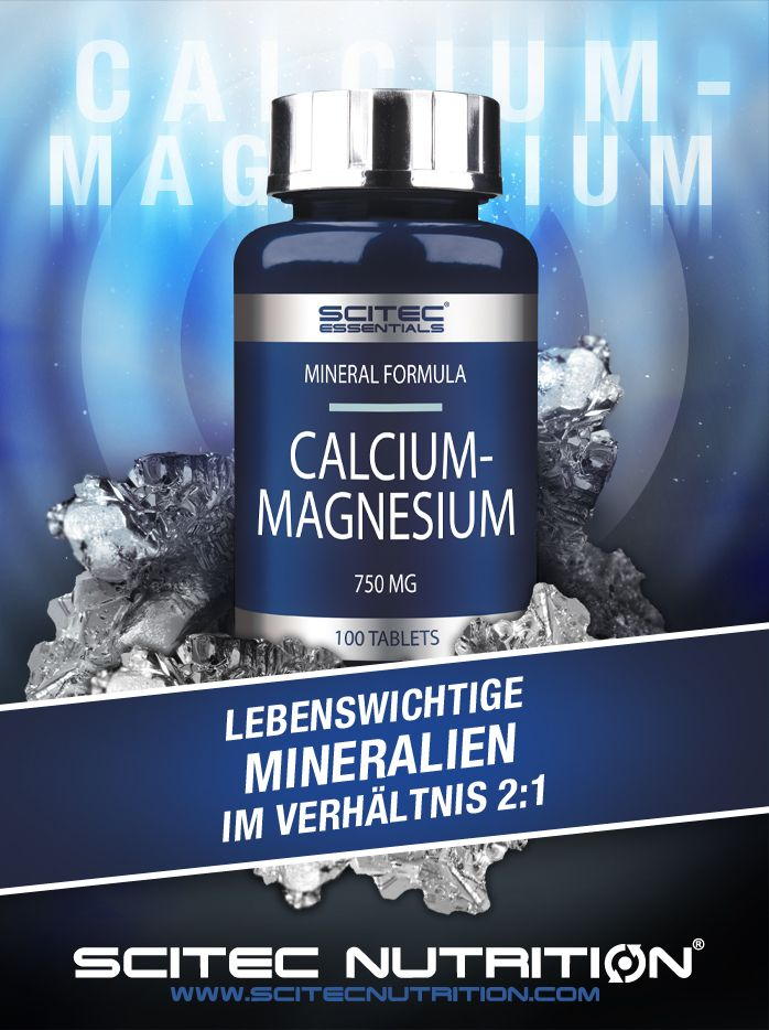 Scitec Nutrition Calcium Magnesium mit den wichtigen..