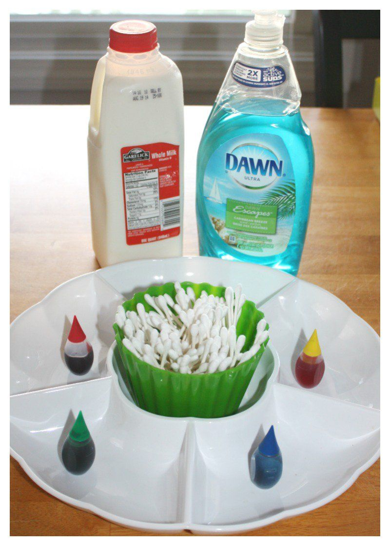 Magic Milk Science Experiment Kids Crafts Science