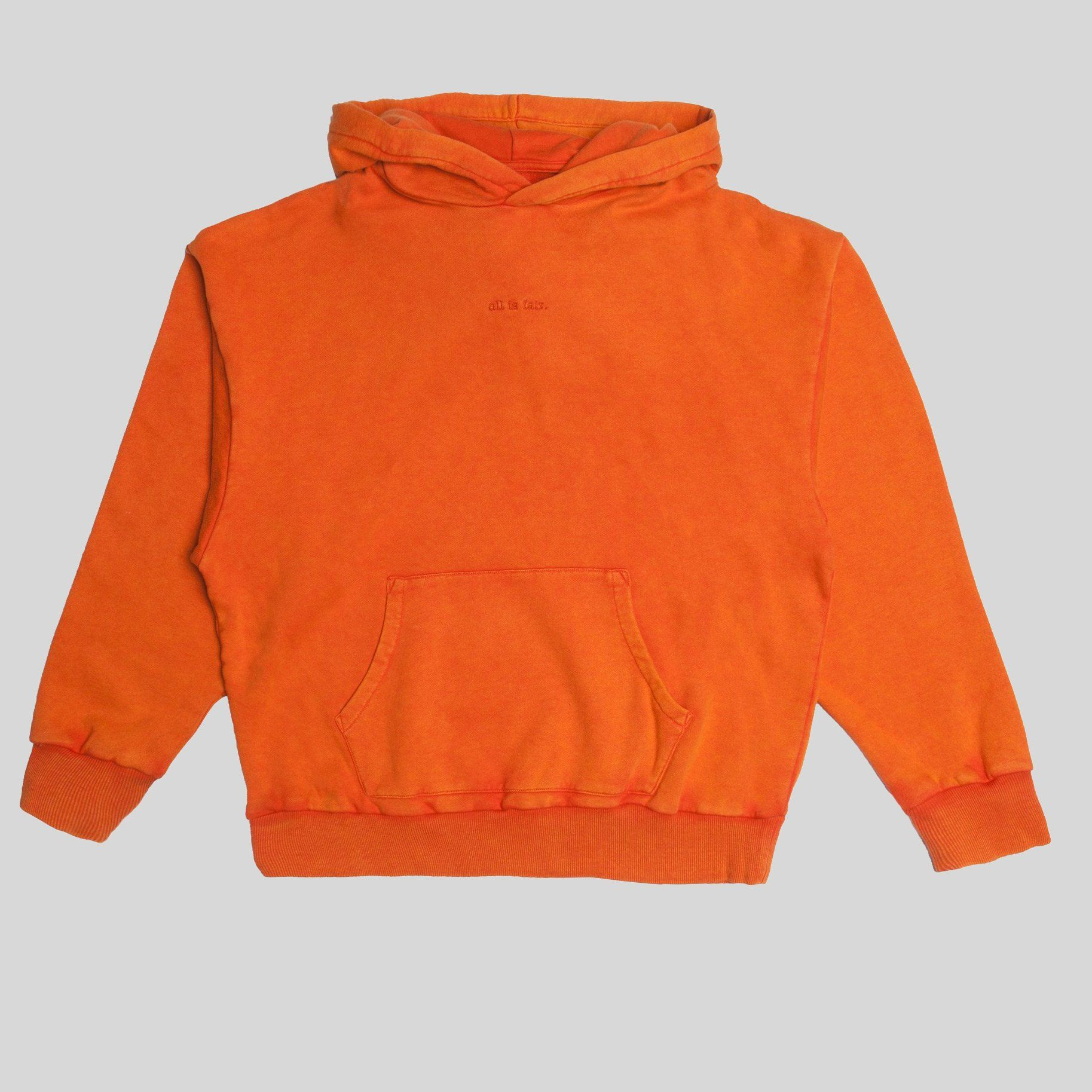 Fairplay Howell Hooded Pullover Orange Hooded pullover