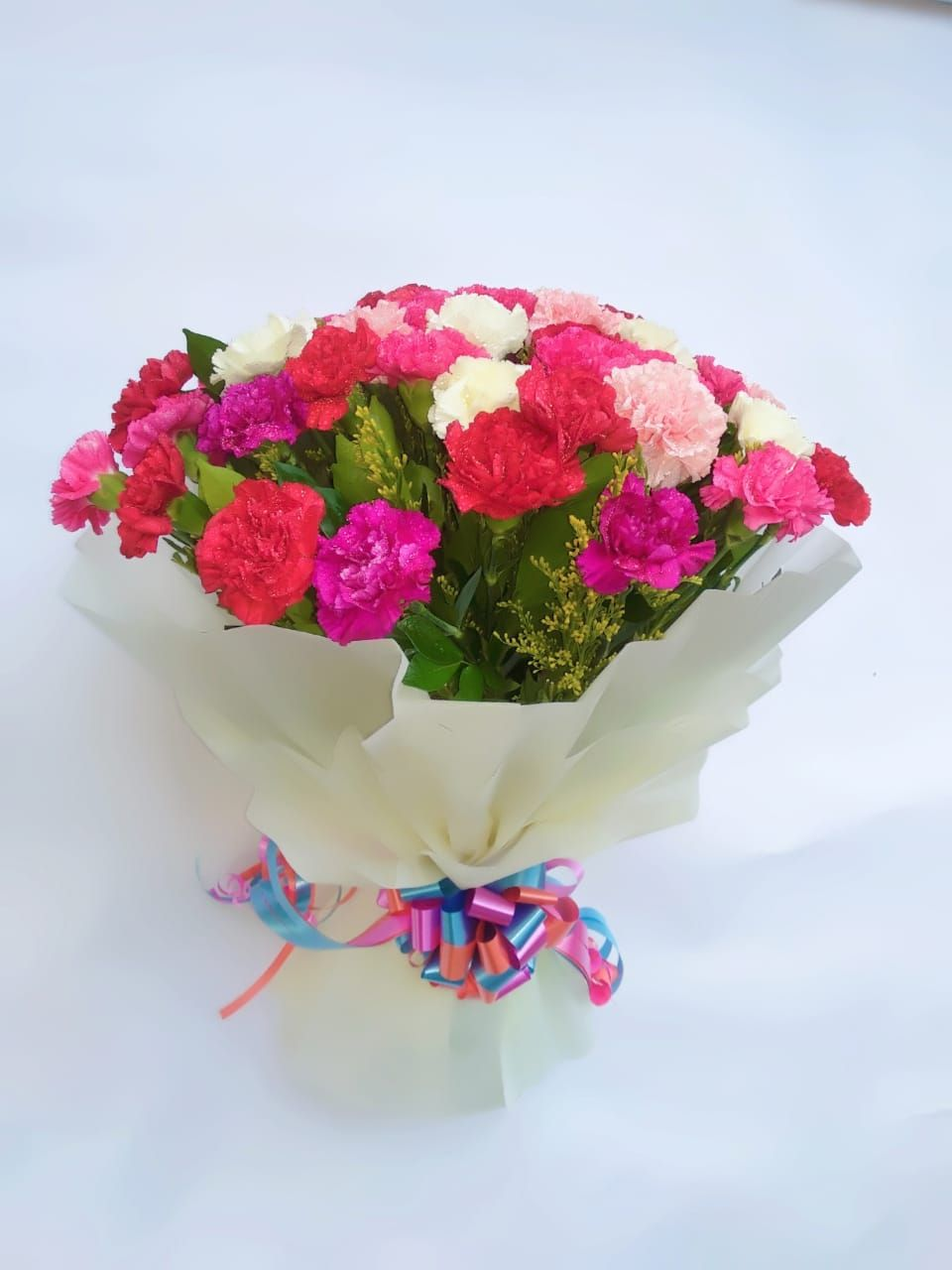 Mix Carnation Bunch Carnations Order Flowers Bunch