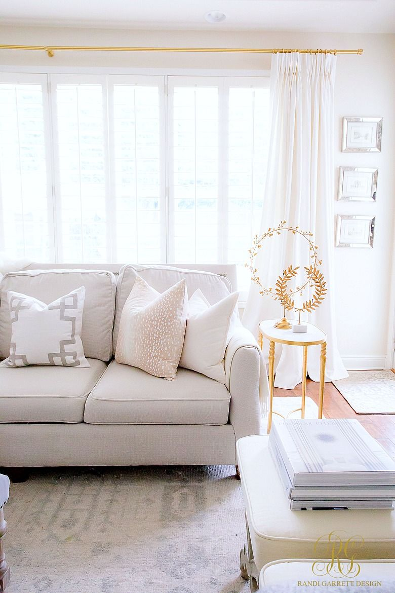 Get The Look Light And Airy Living Room Family Room Decorating