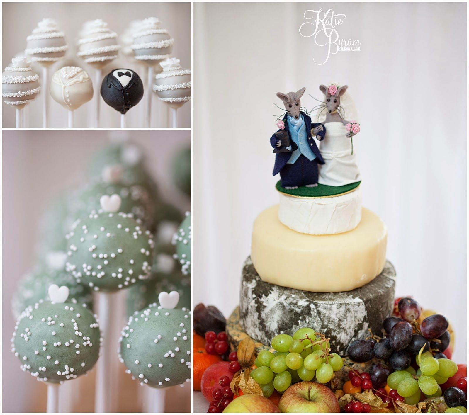 cake pops, cheese wedding cake, priory cottages wedding, priory ...
