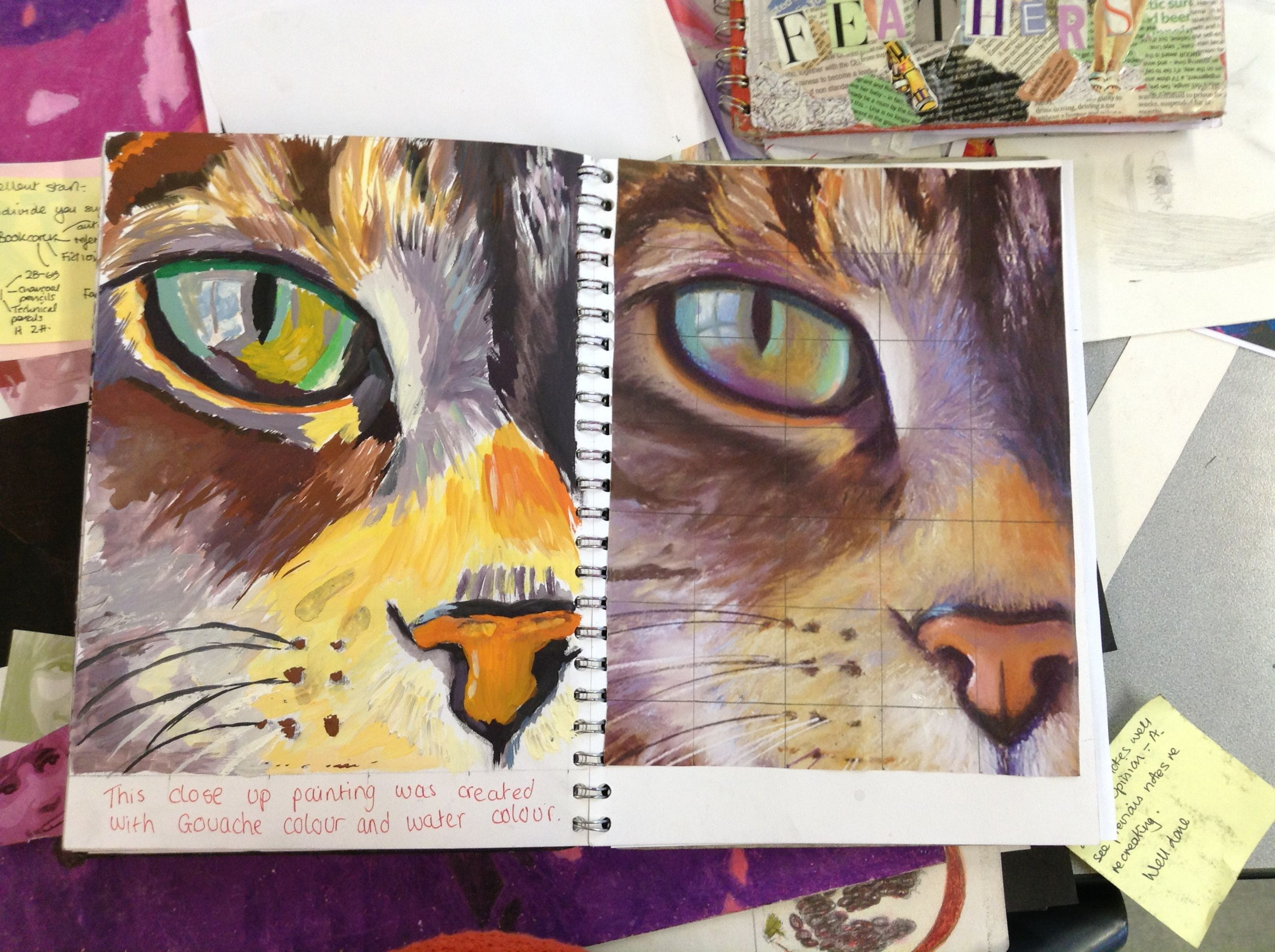 art gcse Course information projects the art and design gcse is made up of two elements, portfolio work and the final exam the portfolio work will be created in year 10 and.