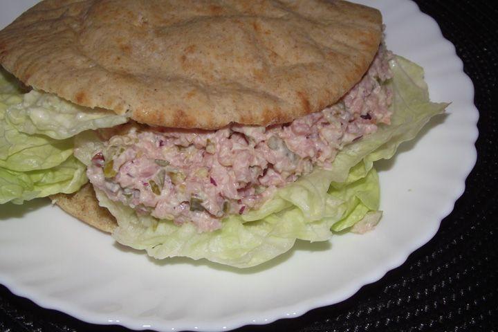 Ham Salad / Ham Spread. Simple recipe. Great comfort food!
