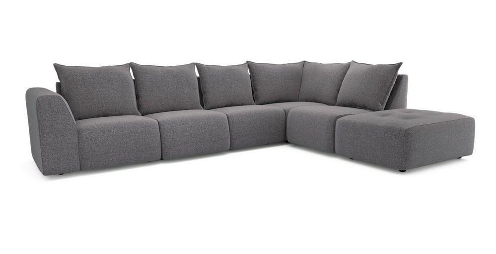 Zania Left Hand Facing Arm Corner Sofa Dusky Dfs Corner Sofa Comfy Sofa Sofa