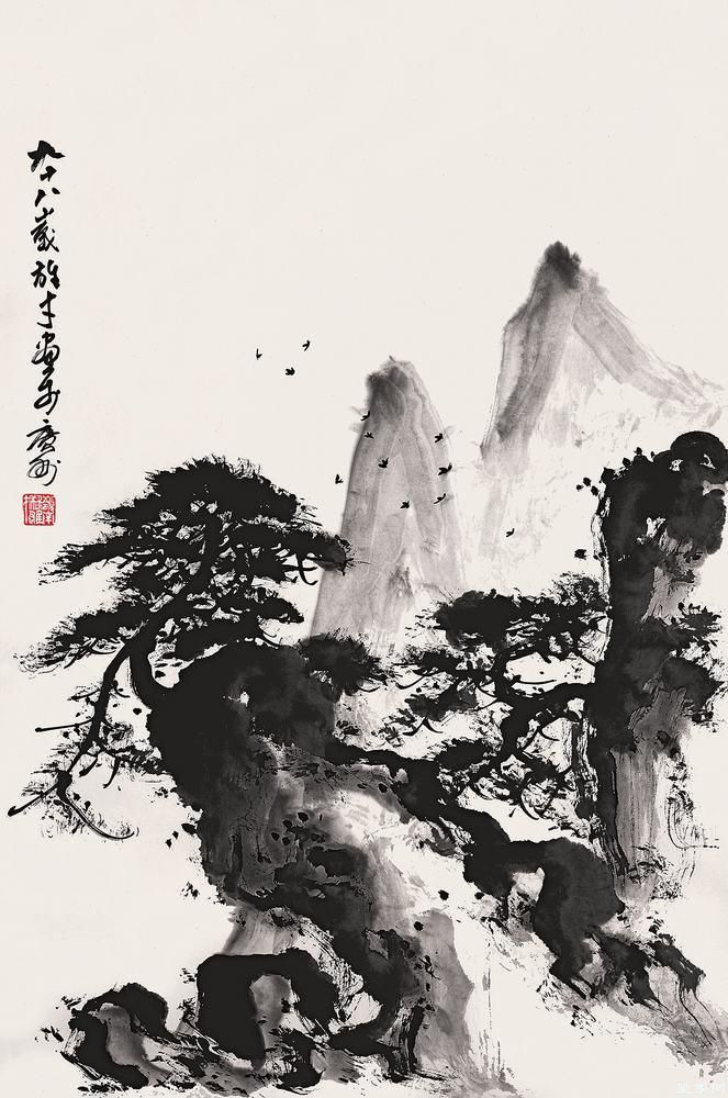 Archillect On In 2020 Chinese Landscape Painting Japanese Ink