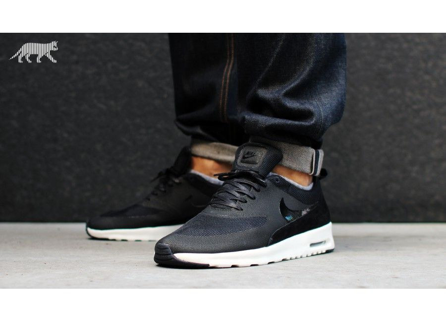 womens nike air max thea black anthracite pink
