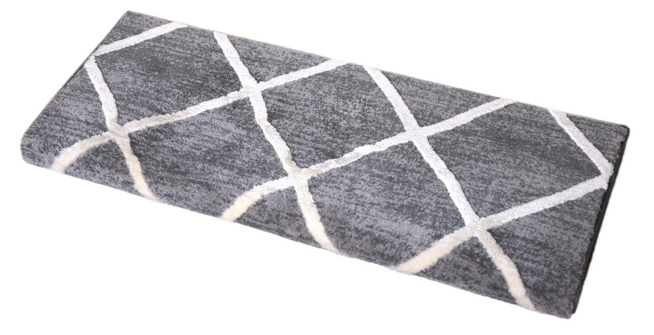 Dean Non Slip Tape Free Pet Friendly Stair Gripper Bullnose Carpet   Non Slip Carpet For Stairs   Trim   Laminate   Wood End Cap   Step   Rubberized