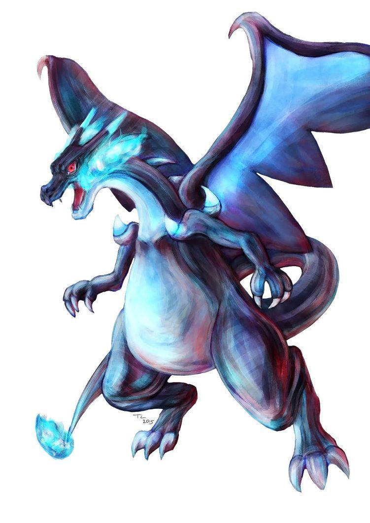 Pokemon mega charizard x by advent hawk tshirts 4 ludasaki mega charizard - Image de mega dracaufeu ...