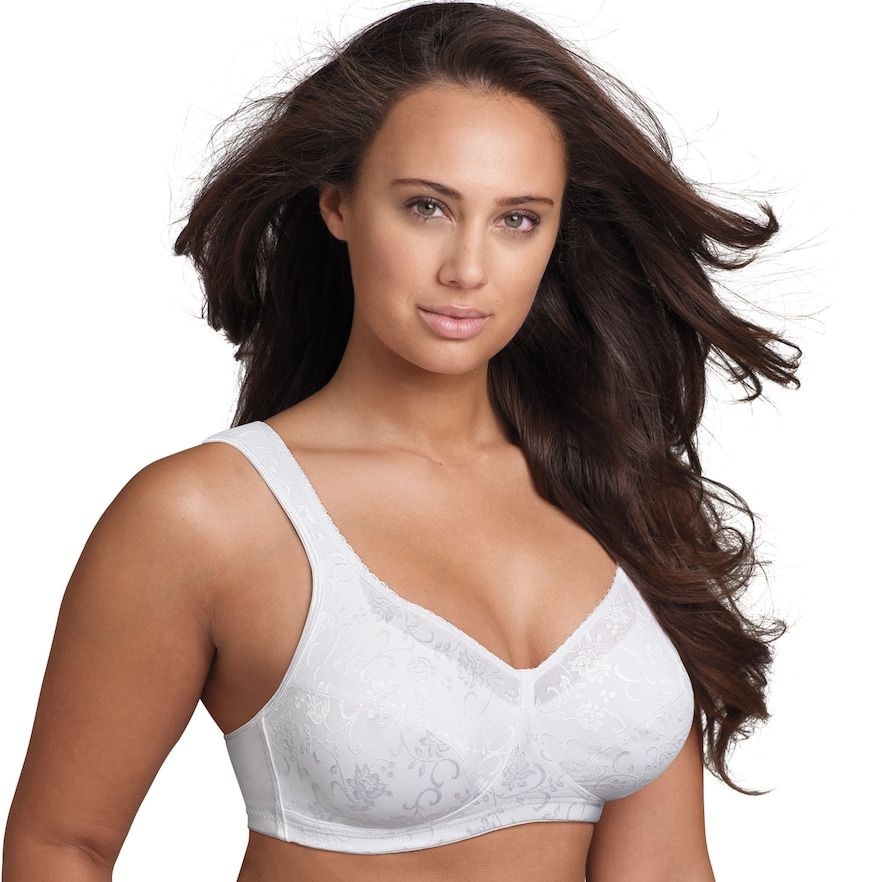 22687f791 Plus Size Playtex Bra  18 Hour Full-Figure Wireless Bra 4608 - Women s
