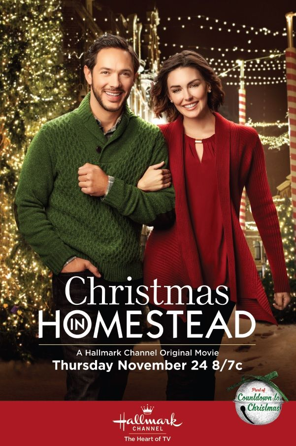 """Watch Hallmark Channel's """"Christmas in Homestead"""" Thanksgiving Day! #CountdowntoChristmas #Ad ..."""