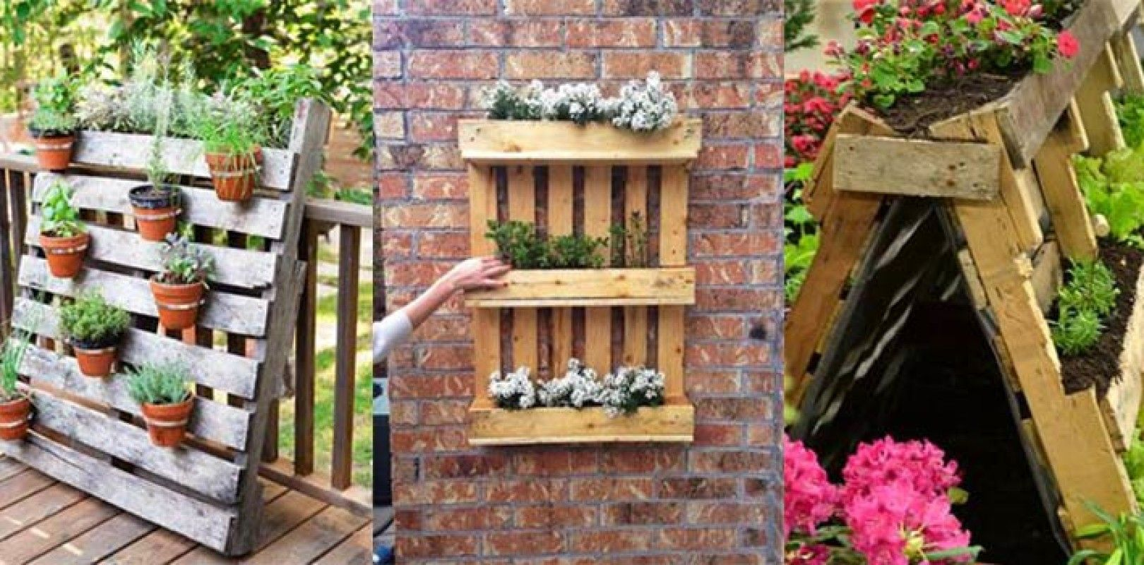 Orto sul balcone con i bancali | Fai da te e hobby | Pinterest ...