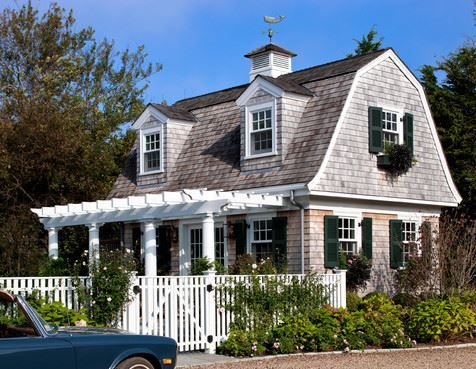 Cape Cod With Gambrel Roof Dutch Colonial Homes England Houses New England Homes