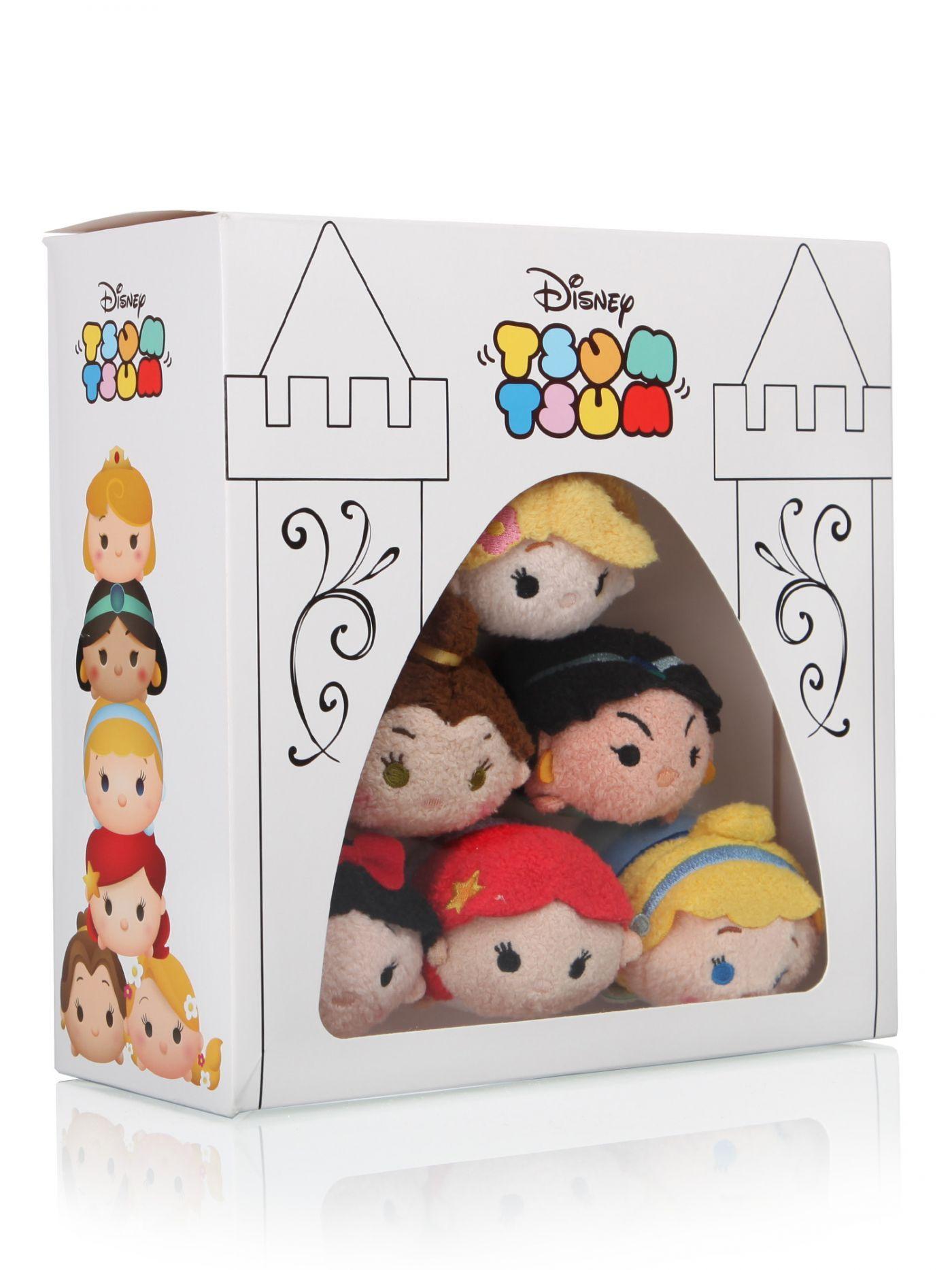 Disney Princess Tsum Tsum Set - Disney Tsum Tsum - Soft Toys - Gifts ...