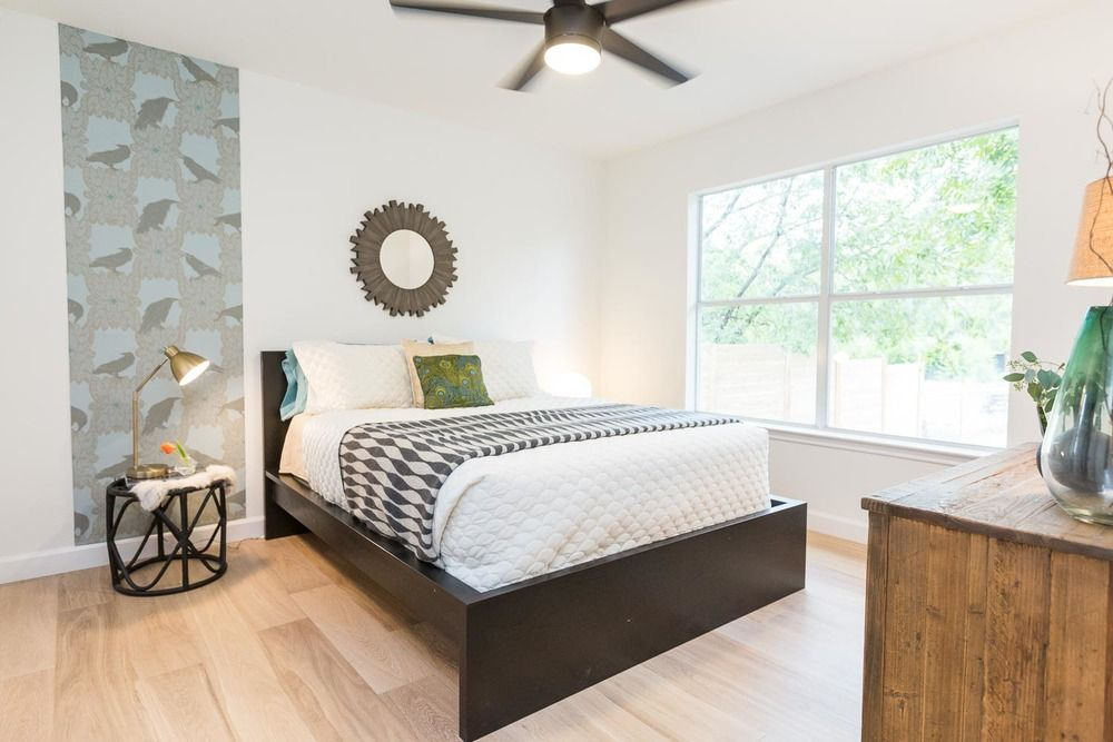 East austin modern farmhouse just completed living