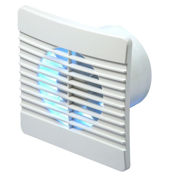 Humidity Controlled Bathroom Fan: Manrose Flat Fan 100mm With Humidity Control 100mm And