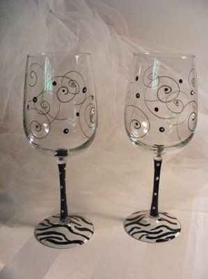 Painting wine glasses diy weddings do it yourself wedding painting wine glasses diy weddings do it yourself wedding forums weddingwire solutioingenieria Image collections