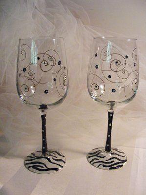 Painting wine glasses DIY!? | Weddings, Do It Yourself | Wedding Forums | WeddingWire