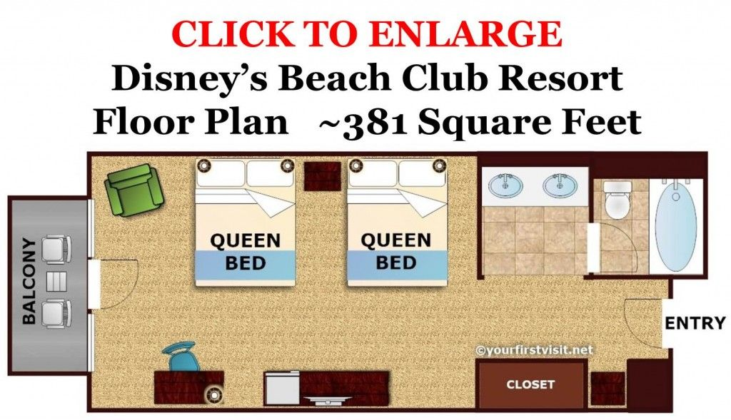 Review: Disney\'s Beach Club Resort | Beach club, Disney s and Beach