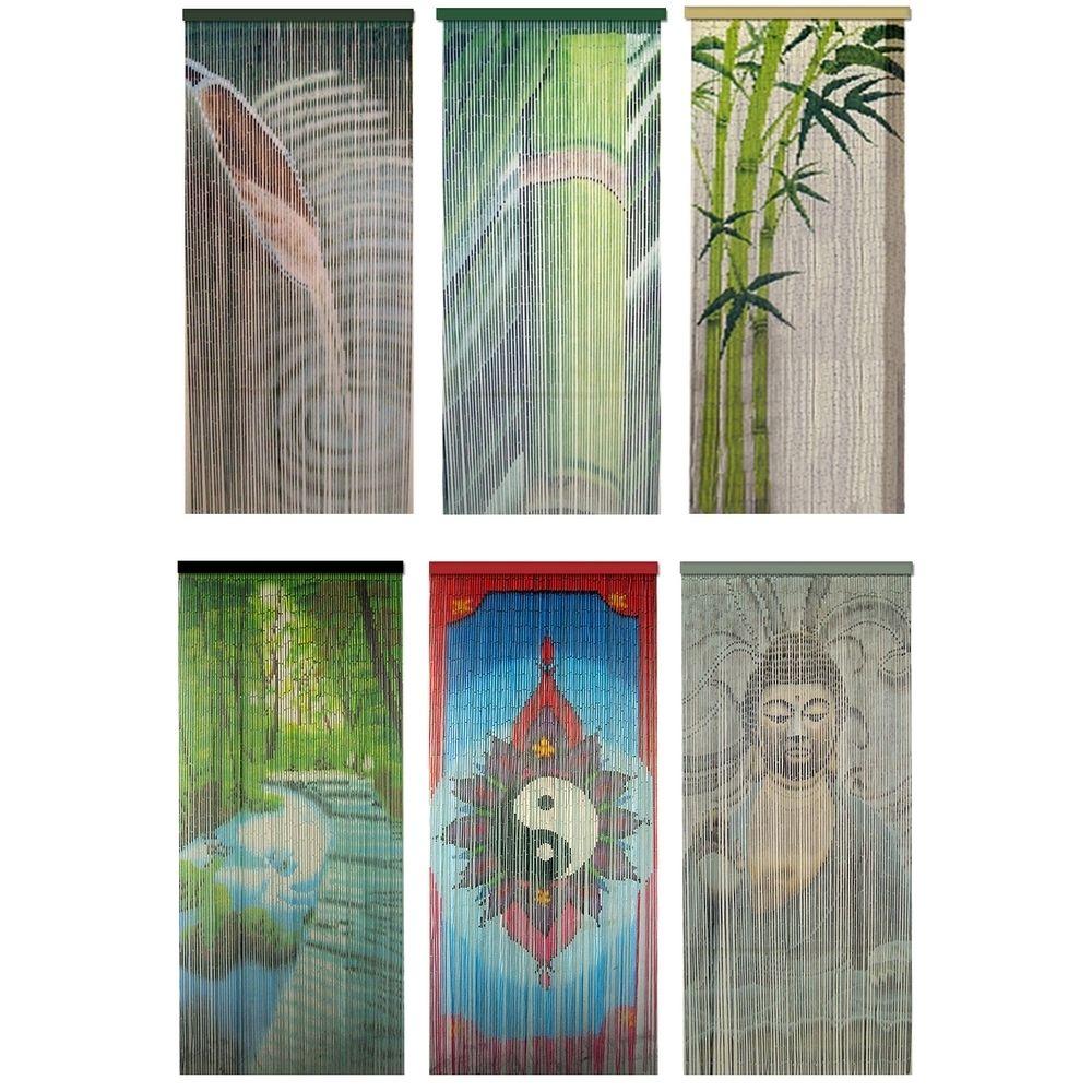 Rideau de porte moustiquaire bambou feng shui zen en 2019 clermont rideau de porte rideau - Rideaux de perles pour portes ...