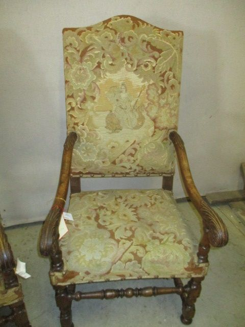 Antique French Country Chair Vintage Antique Wooden Dining Chairs