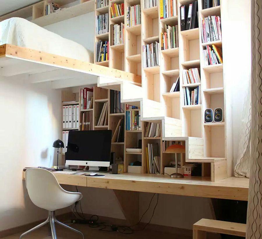 idee-soppalco-12 | Interni casa piccola, Design casa piccola ...