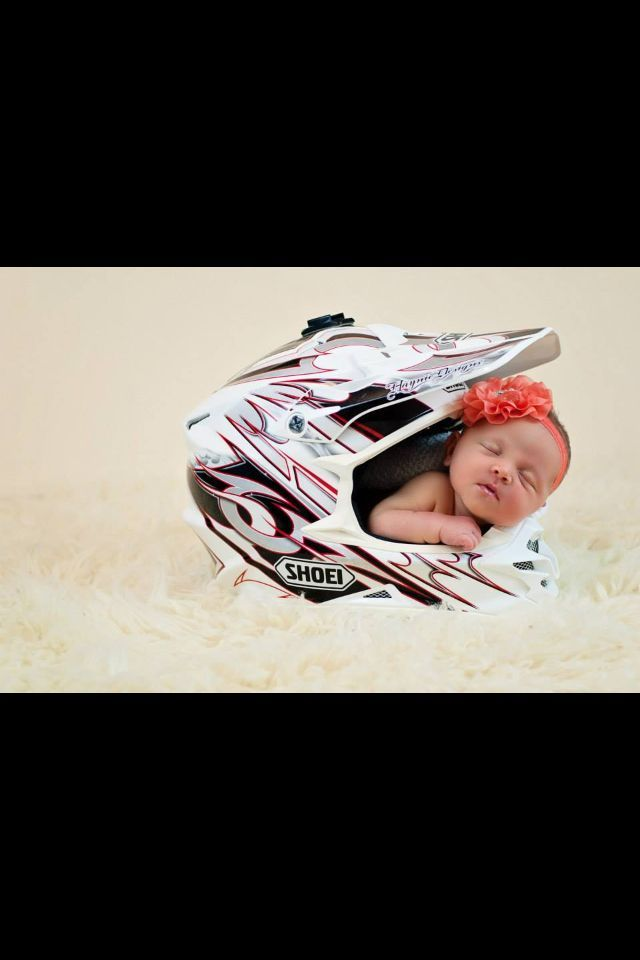 Motobaby Newborn Picture Motocross Helmet With Images