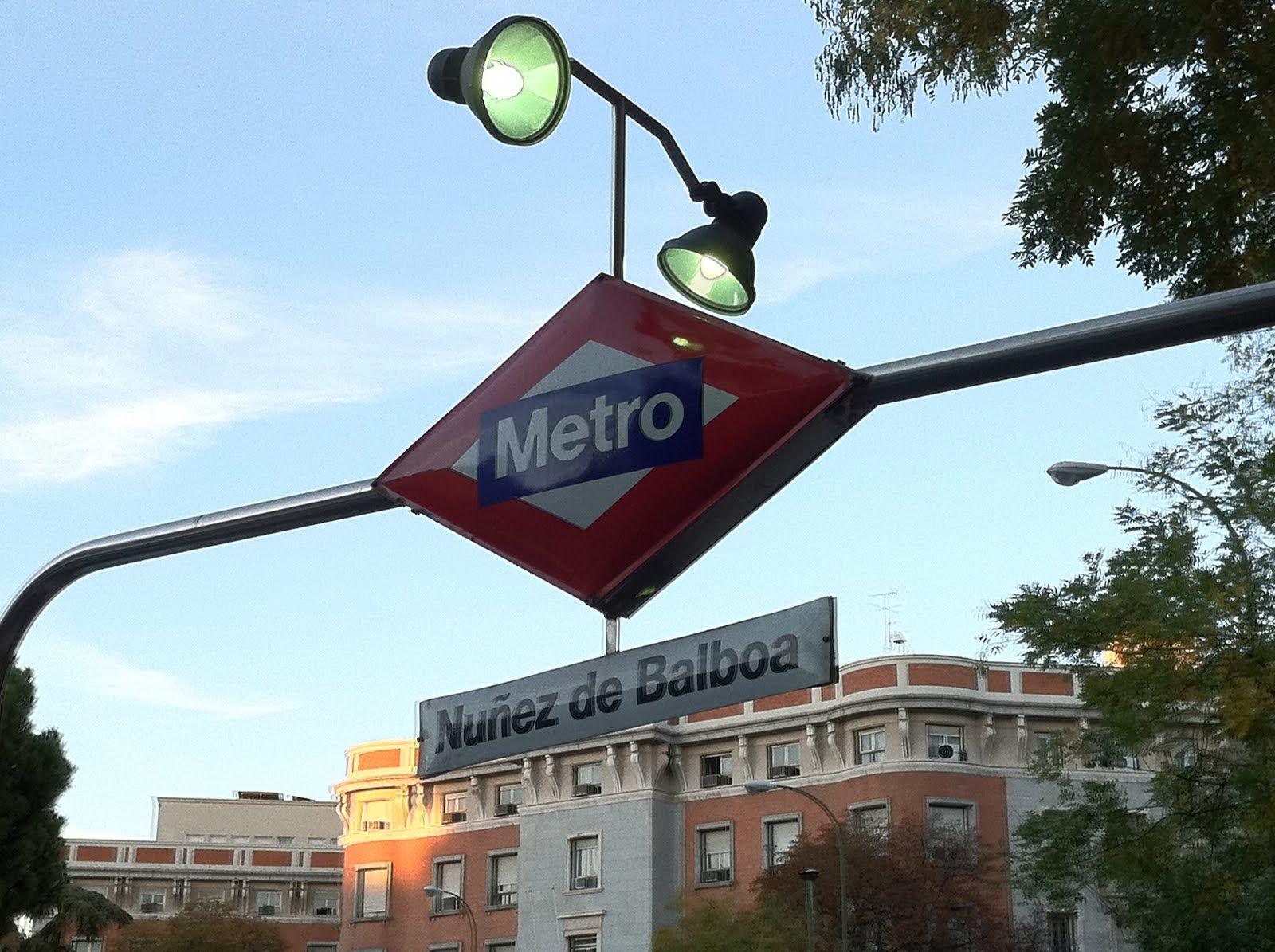 Metro Nuñez de Balboa. #Madrid