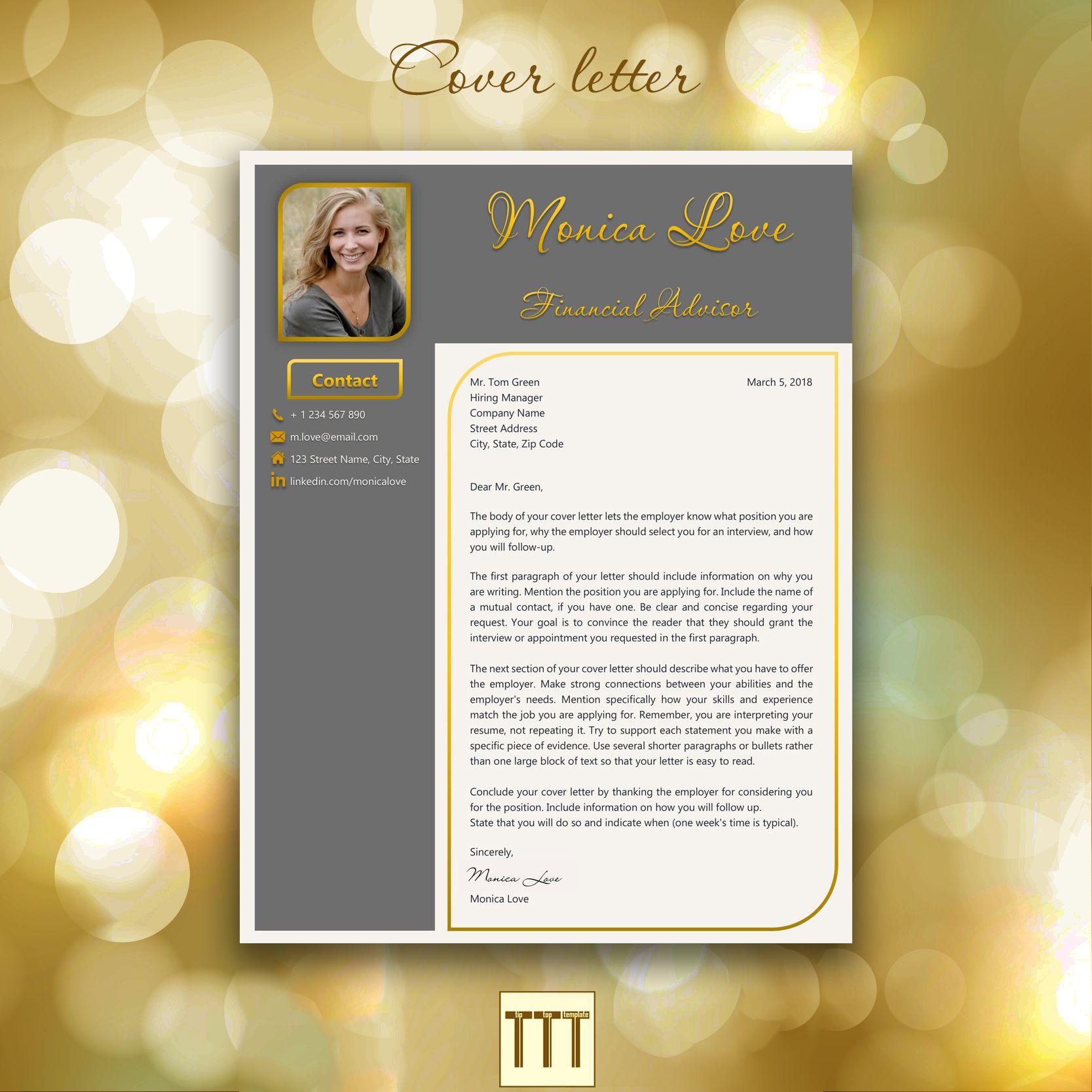 Modern Resume Template Professional Creative Resume Instant Etsy Modern Resume Template Resume Template Professional Resume Template
