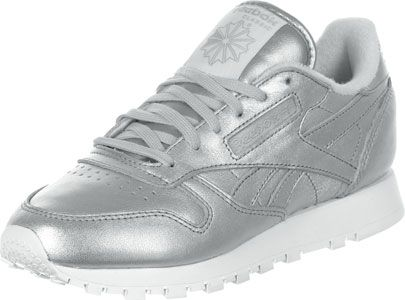 Reebok CL Leather Spirit W schoenen zilver