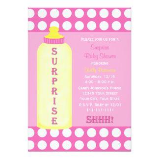 Good Baby Shower: Surprise Baby Shower Invitations Wording To Make Your  Captivatingu2026